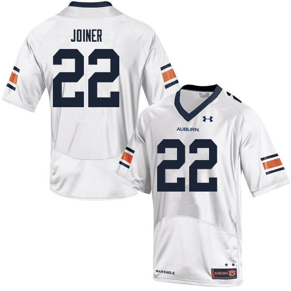 Men #22 Harold Joiner Auburn Tigers College Football Jerseys Sale-White