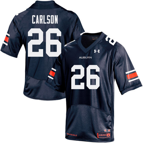 Men Auburn Tigers #26 Anders Carlson College Football Jerseys Sale-Navy