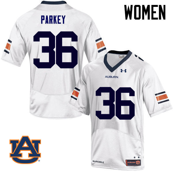 Women Auburn Tigers #36 Cody Parkey College Football Jerseys Sale-White