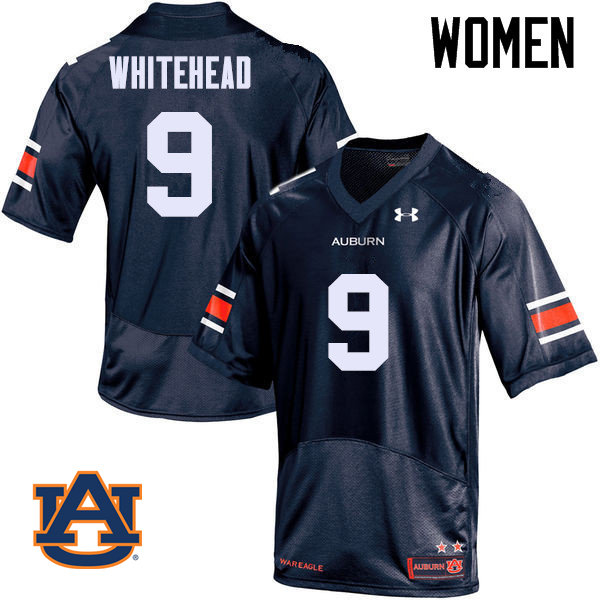 Women Auburn Tigers #9 Jermaine Whitehead College Football Jerseys Sale-Navy