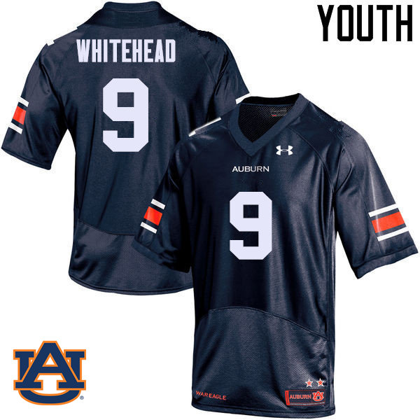 Youth Auburn Tigers #9 Jermaine Whitehead College Football Jerseys Sale-Navy