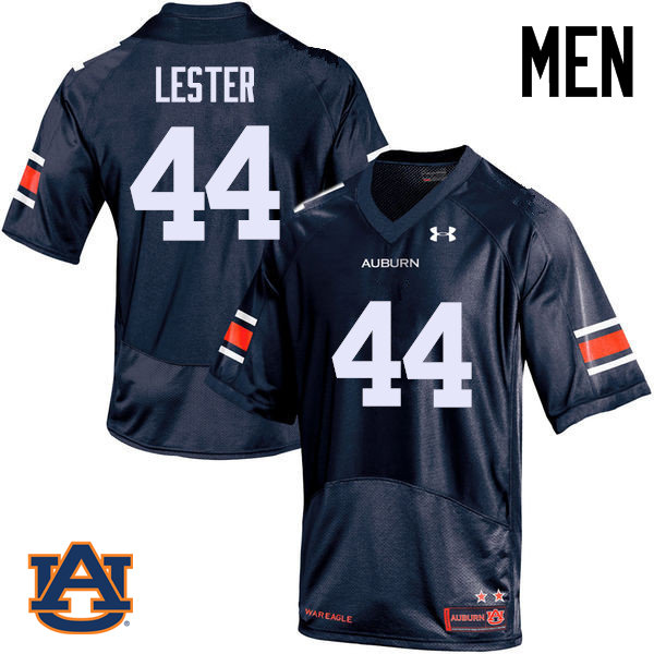 Men Auburn Tigers #44 Raymond Lester College Football Jerseys Sale-Navy