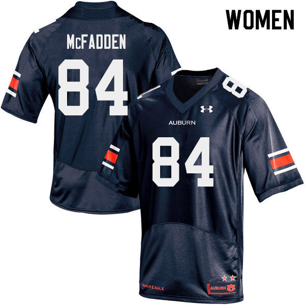 Women #84 Jackson McFadden Auburn Tigers College Football Jerseys Sale-Navy