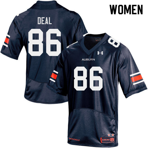 Women #86 Luke Deal Auburn Tigers College Football Jerseys Sale-Navy