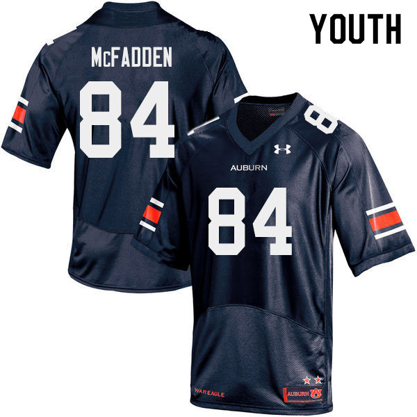 Youth #84 Jackson McFadden Auburn Tigers College Football Jerseys Sale-Navy